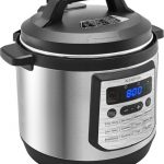 Insignia™ – 8-Quart Multi-Function Pressure Cooker – Stainless Steel. $39.99