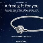 Reeds Jewelers: A Free Pandora Bangle with Pandora purchase of $125 or more