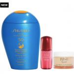 Shiseido SPF x Active Play Sun Protection Set for $49.