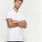 C21 Stores: Lacoste Men's Tee 3-pack for $14.99