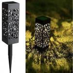 Maggift 8 pc Solar Powered LED Gargen Light for $14.99